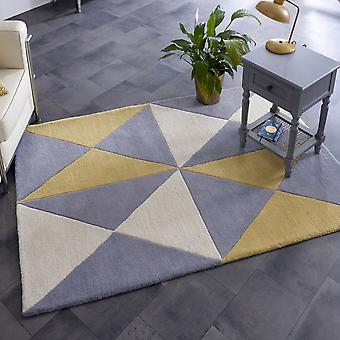 Tapetes da pirâmide de Charlotte 04 pelo conceito no creme, cinzento & Ochre
