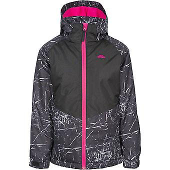 Trespass Girls Lottar TP50 Padded Hooded Adjustable Ski Coat