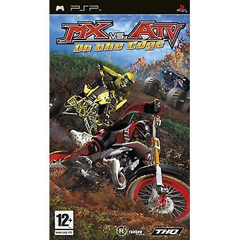 MX vs. ATV On the Edge (PSP) - New