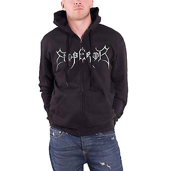 Emperor In The Nightside Eclipse 2011 Official Mens New Black Zipped Hoodie