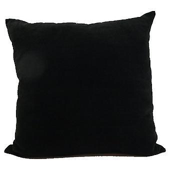 Kissen Schwarz 45x45 cm