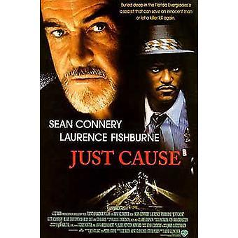 قضية عادلة (مزدوجة الجانب) ملصق السينما الأصلي