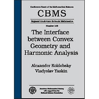 The Interface Between Convex Geometry and Harmonic Analysis by Alexan
