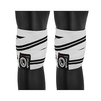 Optimum Sport Techpro X14 MMA Knee Wraps Training Compression Support Straps