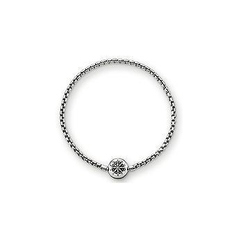 Thomas Sabo Karma Beads Sterling Silver Bracelet KA0002-001-12