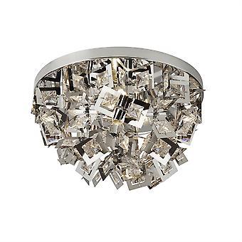 Søkelys Nova 4 lys flush Ceiling lys krom 2624-4CC