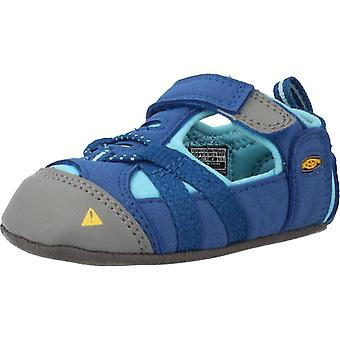 Keen Sandalias Seacamp Crib Color True Blue