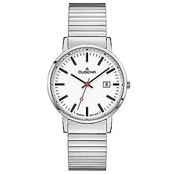 Dugena Watch Analog quartz men with stainless steel strap 4460749