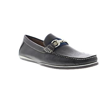 Giorgio Brutini Tiller Moccasin  Mens Brown Leather Casual Loafers Shoes