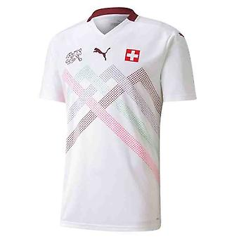 2020-2021 Sveits Away Puma fotball skjorte