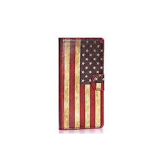 Case For Samsung Galaxy A7 Pattern Usa Vintage Flag