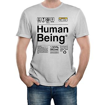 Reality glitch human being mens t-shirt