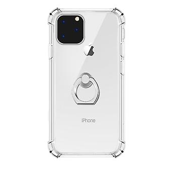 Transparante ring houder Case voor iPhone 11 Pro Max
