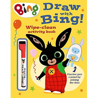 Draw With Bing Wipeclean Activity Book
