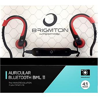 Bluetooth headsets with microphone BRIGMTON BML-11-R red