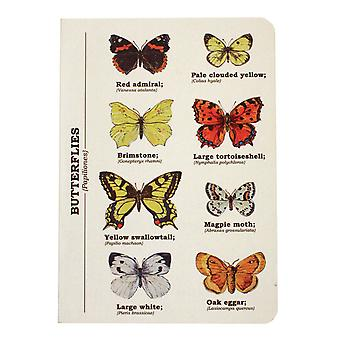 Butterfly Notebook A6 Size - Ecologie Range by Gift Republic