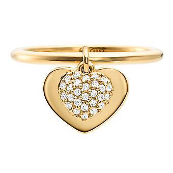 Michael Kors Ring MKC1121AN710 - KORS LOVE Silver Dor Women