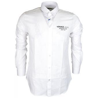 Versace Jeans Cotton Pop White Shirt