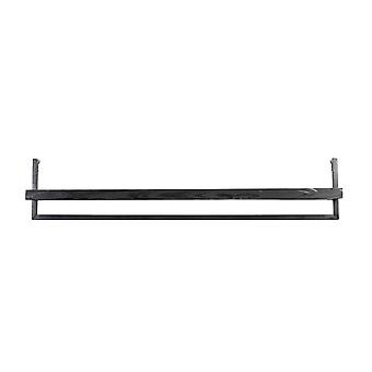 Light & Living Wall Shelf 120x18x24cm Maddison Wood Black
