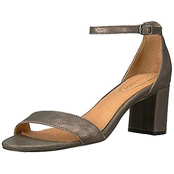 Opportunity Shoes - Corso Como Women's Caress Heeled Sandal, Gunmetal Dusted ...
