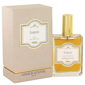 Sables av Annick Goutal Eau De Toilette Spray 3,4 oz / 100 ml (Menn)