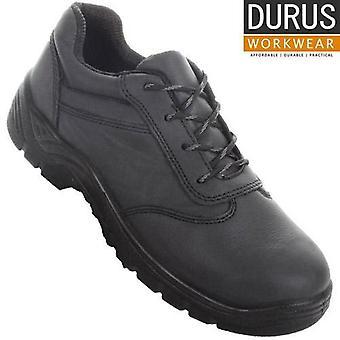 Durus Workwear Steel Toe Cap Lace-Up Uniform Shoe SBU07