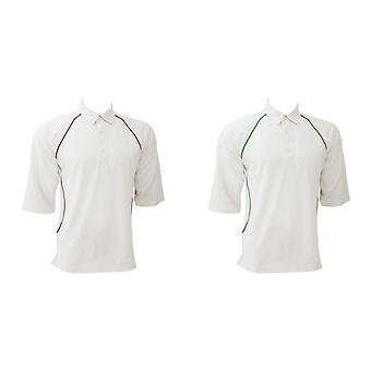 Finden & Hales Piped Cool Plus Cricket T-Shirt