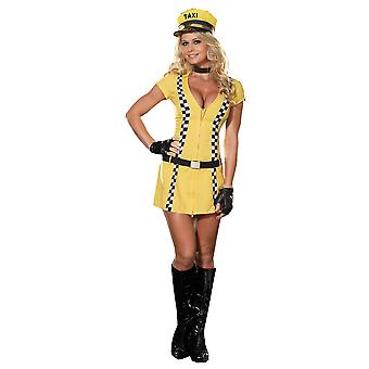 Women Sexy Taxi Driver Costume