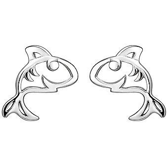 أطفال مسمار الأقراط القرش 925 الاسترليني الفضة الأقراط أقراط الاطفال