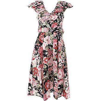 P.a.r.o.s.h. D723206800 Women's Multicolor Cotton Dress