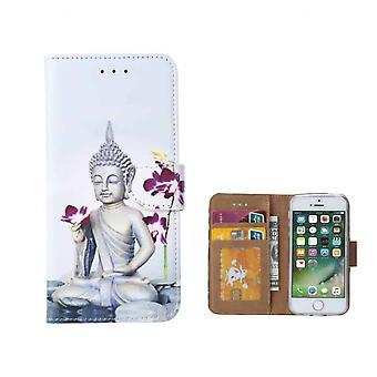 FONU Bücherregal Fall Buddha iPhone 8 Plus / 7 Plus
