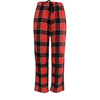 Cuddl Duds Women's Petite Pajama Pants Fleecewear Stretch Novelty Red A371298