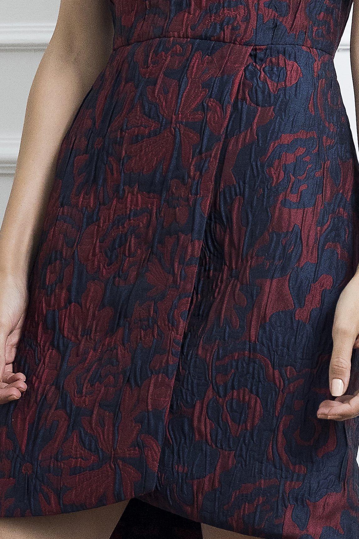 Jacquard envelopper robe femme 5wri54