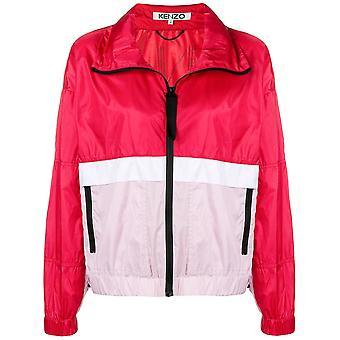 Kenzo Ezcr009003 Women's Multicolor Nylon Outerwear Jacket