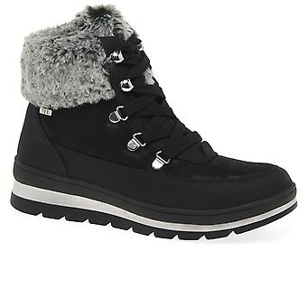 Caprice Mollie Womens Lace Up Ankle Boots