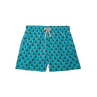 Benibeca Men's Sasa Printed Swim Shorts