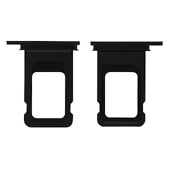Nano-SIM card tray replacement part for Apple iPhone 11 Pro - Black