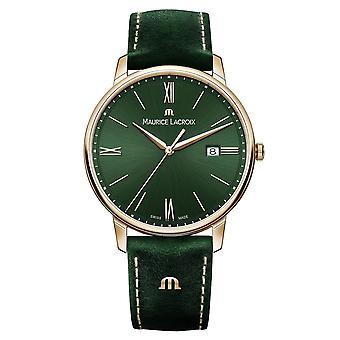 Maurice Lacroix EL1118-PVP01-610-1 Eliros Green Strap Wristwatch