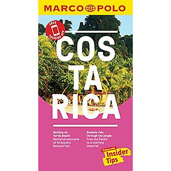 Costa Rica Marco Polo Pocket Travel Guide - with pull out map by Marc