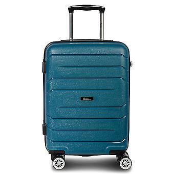 Fabrizio Alpha handbagage vagn S, 4 hjul, 55 cm, 38 L, Blå