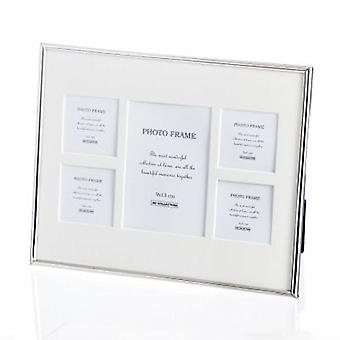 Fotorahmen Amanda quintet 25x1,5x20,5cm silver