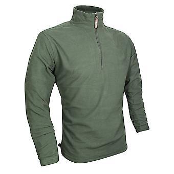JACK PYKE Lichtgewicht Fleece Top Green