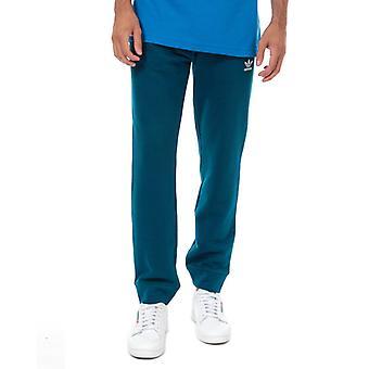 Men's adidas Originals Trefoil Track Pants in Blue