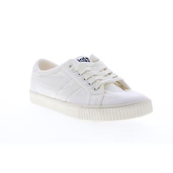 Gola Tennis Mark Cox Wash  Mens White Canvas Lifestyle Sneakers Shoes