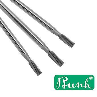 Busch Cylinder Jeweller's Burr No 21 - Escolha de 0,7 a 3,1mm