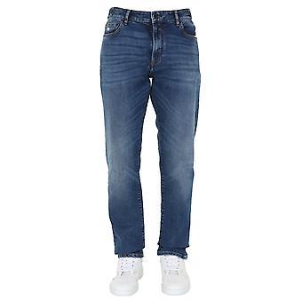 C.p. Company 08cmpa126a005408cd10 Men's Blue Cotton Jeans