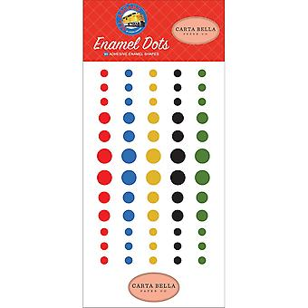 Carta Bella All Aboard Enamel Dots