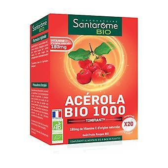 Organic Acerola 1000 20 tablets