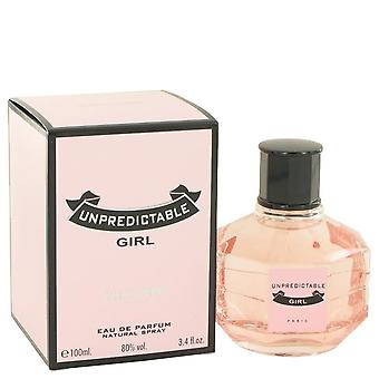 Unpredictable girl eau de parfum spray by glenn perri 501334 100 ml