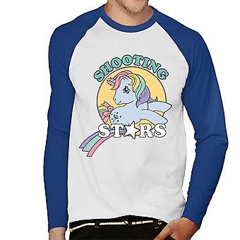 My Little Pony Shooting Stars Hombres's Baseball camiseta de manga larga